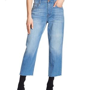 J Brand   Ivy High Rise Cropped Jeans   Sz 25 NWT